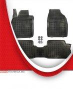 Стелки REZAW PLAST TOYOTA COROLLA 2007+ E15, гумени, черни