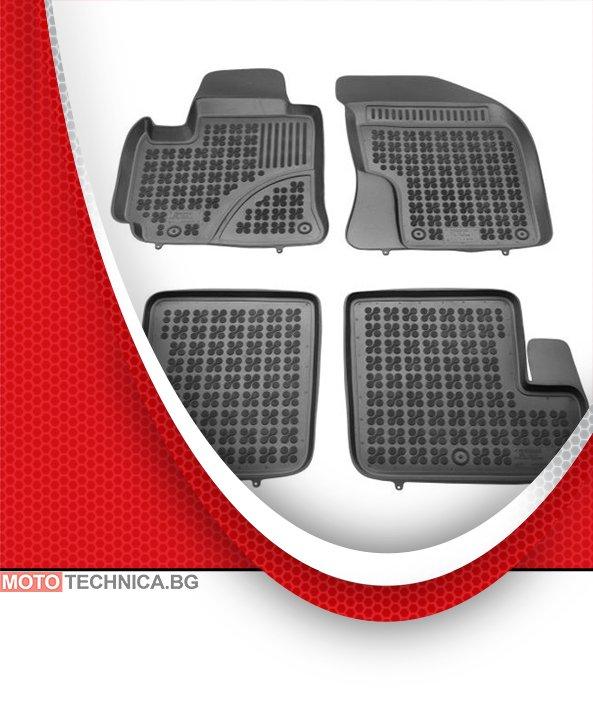 Стелки REZAW PLAST TOYOTA RAV4 2000-2005 A2, гумени, черни