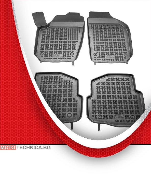 Стелки REZAW PLAST VW POLO 2001-2012 9N, гумени, черни