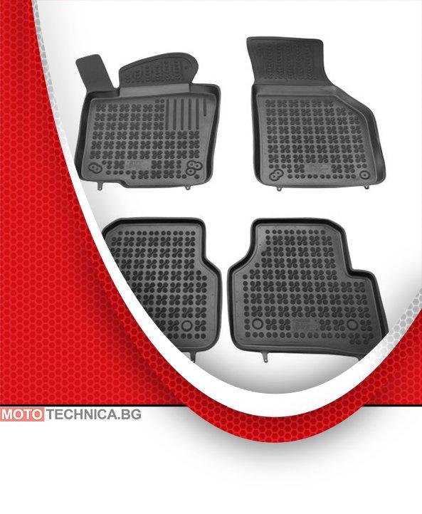 Стелки REZAW PLAST VW TIGUAN 2007+ 5N, гумени, черни